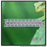 Afia nylon jacquard  cotton backer   lace  YN-H0021