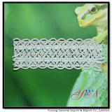 Afia nylon jacquard  cotton backer   lace  YN-H0399