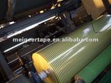 Our Korean Customer BOPP Logo Printed Tape Jumbo Roll
