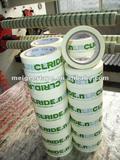 Our Korean Customer BOPP Logo Printed Tape