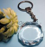 K9 crystal sunflower shape key chain