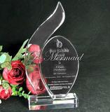 high quality handmade k9 crystal award