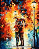 Oil Painting By Numbers 100% Cotton Canvas Eco-Friendly Material