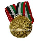 Metal medal with ribbon for awards---OEM FREELY (JYB-33)
