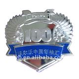 Volvo zinc alloy badge with safety pin