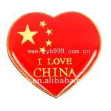 I love China lapel pin badges-Free design