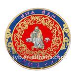 Zinc alloy enamel clip badges