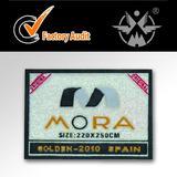 fashion style garment pvc main label