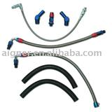 turbo braided oil and water line kit