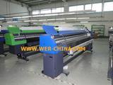 impressora solvente,WER-K3204L,Large Format  Printer (3.2m /4 heads KONICA 512/42PL)