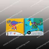 Children cardboard book as promotion gift