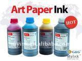 art paper ink, can dry soon and scuff-resistant , for EPSON 4/6 colors printers