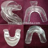 dual mouthpiece,dental tray ,mouth tray,teeth whitening mouth tray,teeth impression tray