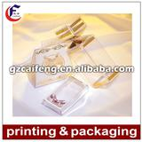 clear PET packaging box for gift