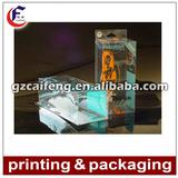 promotional clear pvc gift box
