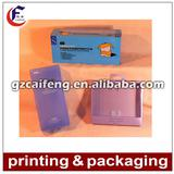 plastic pvc packaging box for personal care