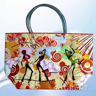 opp lamination woven shopping bag
