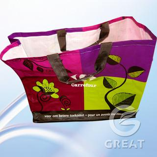 woven handing bag