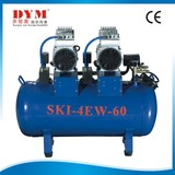 SKI One for Four Oiless Air Compressor