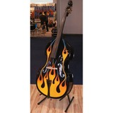 2015 High Quality  Flame Pattern Double Bass