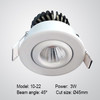 Swivel Mini LED lamp COB 3W