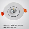 COB LED ceiling spotlight 7W 15W 20W 30W