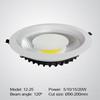 Ultra thin COB LED down light 5W 10W 15W 20W