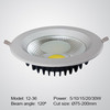 COB LED down light 5W 10W 15W 20W 30W height 42-60mm