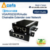VGA+Audio extender with can chainable extender