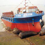 airbag for ship launching/landing