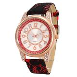 Designer women diamond watch