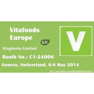 Kingherbs' Vitafoods Exhibition 2014