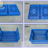 Factory plastic Basket Folding Container SF-001