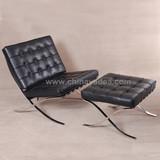 Premium Barcelona chair with premium leather