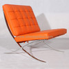 Premium leather furniture Barcelona chair