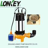 stainless steel crusher water pump