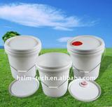 17 liters Sealed plastic lubricant bucket