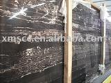 Silver Dragon Chinese Black marble