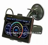 GPS A5.0 With 5.0 inch car gps navigator for both mobile and fix speeding camera detected Model M5.0 (PND)