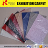 Non woven fabric exhibition Carpet
