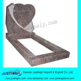 red heart shape granite tombstone price