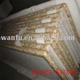 Santa cecilia granite kitchen top