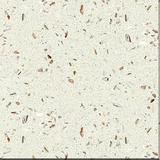 white shell quartz countertop