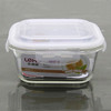 heat resistant borosilicate glass food container for microwave oven