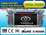 Corolla car DVD player with 800*480 YT-ST003