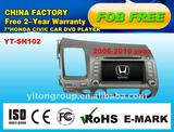 special car DVD player for civic left driver