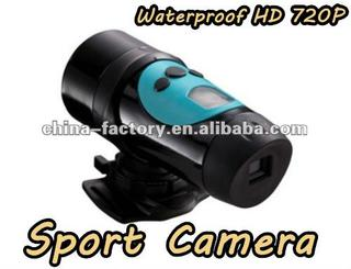 2012 promotional gift 720p hd sports action video camera