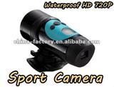 2012 hd 720p waterproof sports dv action camera