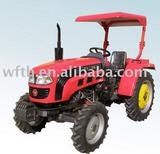 Tractor with sunroof