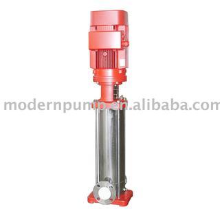 Vertical centrifugal fire pump